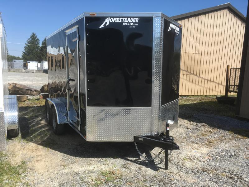 2019 Homesteader 7x12 Intrepid 6in extra ht sd ramp Enclosed Cargo Trailer