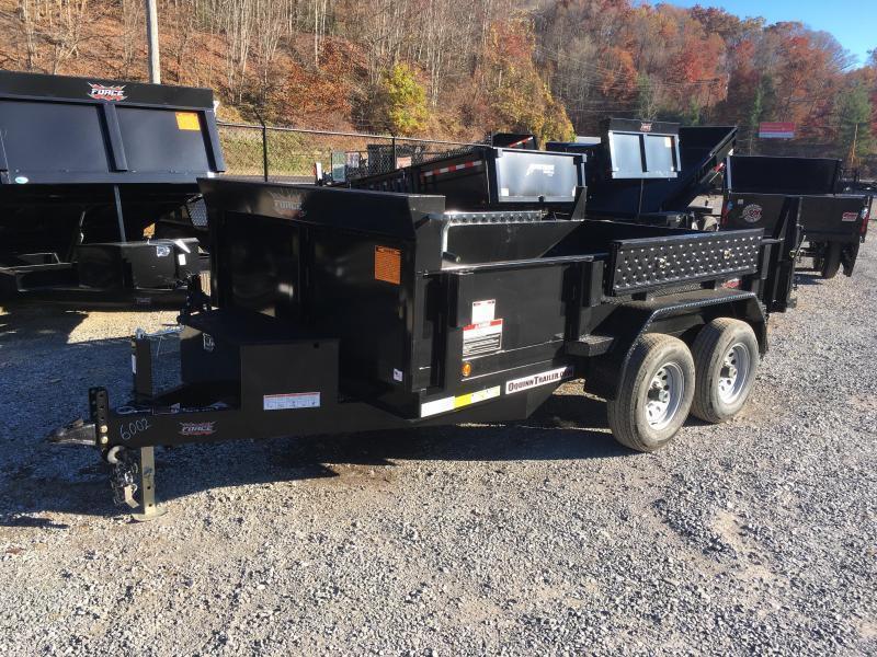 2019 Forest River Inc. 6x12 5ton low profile equip pkg Dump Trailer