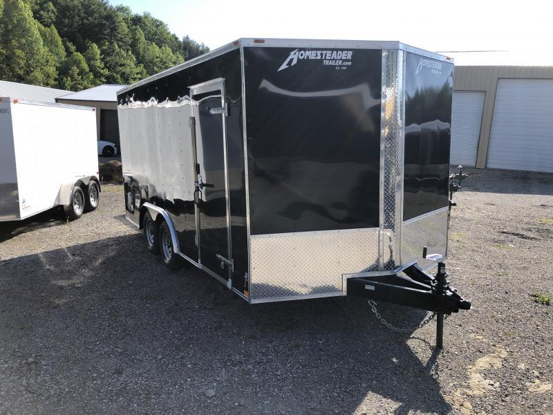 2020 Homesteader 8.5X16 Intrepid SD Ramp Door Enclosed Cargo Trailer