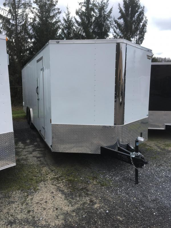 2018 Continental Cargo 8.5x24 3.5 ton car hauler Enclosed Cargo Trailer