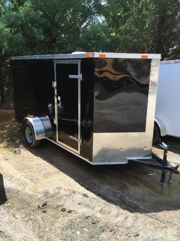 2019 Cynergy Cargo 6x12 vnose ramp Enclosed Cargo Trailer