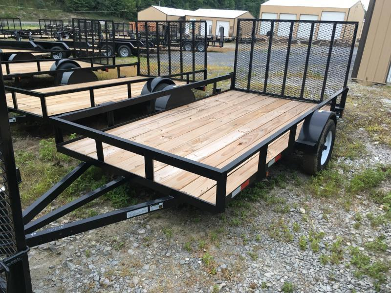 2016 Other (Not Listed) 76x12 hd frame hd gate single axle Utility Trailer