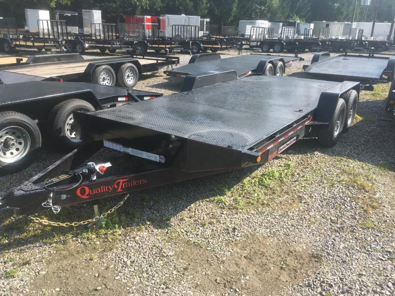 2020 Quality Trailers 82x20 5ton pro series steel car hauler 4brk Car / Racing Trailer