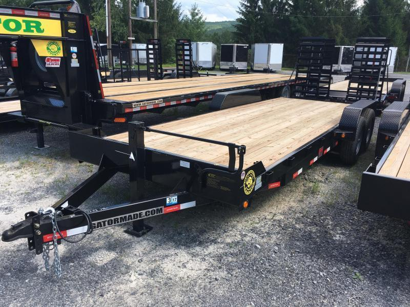 2019 Gatormade Trailers 82x22 7ton Equipment Trailer