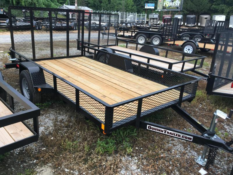 2017 Gatormade Trailers 76x12 gate single axle 1ft mesh sides Utility Trailer