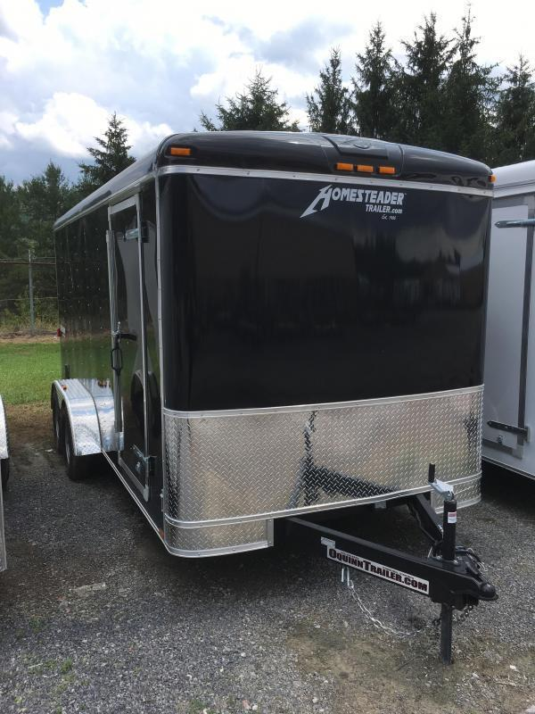 2019 Homesteader 7x16 Challenger sd ramp Enclosed Cargo Trailer