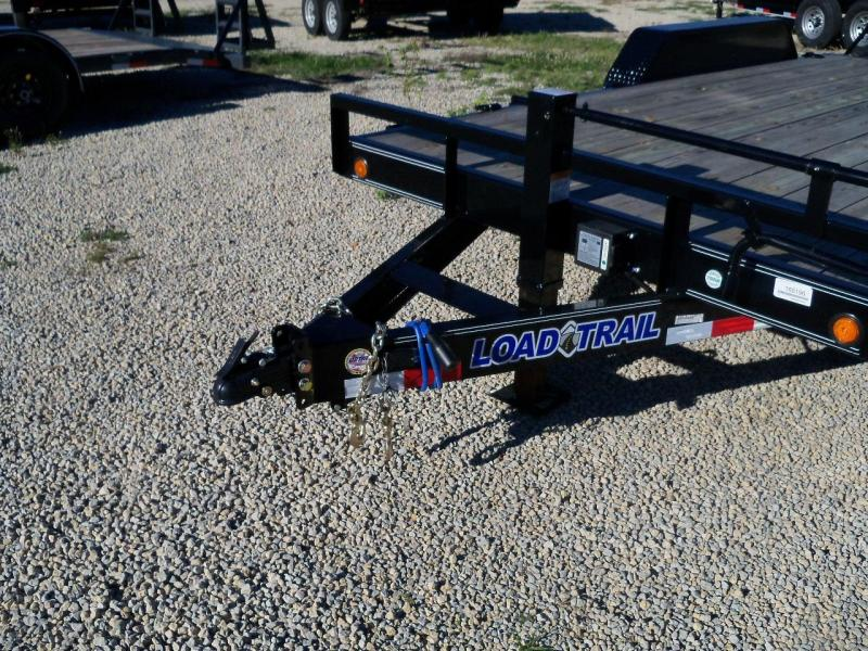 "2018 Load Trail 83"" X 16' Tandem Axle Carhauler Car / Racing Trailer"