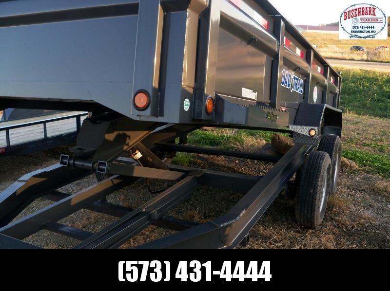 Load Trail 16x083 DUMP TA SCISSOR LIFT DT8316072