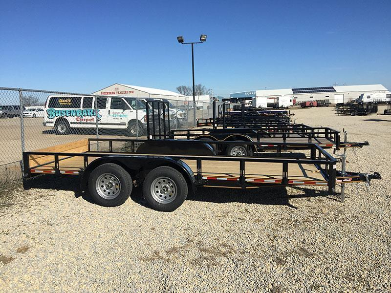 Heartland 18 X 82 Flatbed Trailer