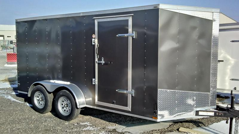 2017 Lark 7 X 14 CARGO Enclosed Cargo Trailer