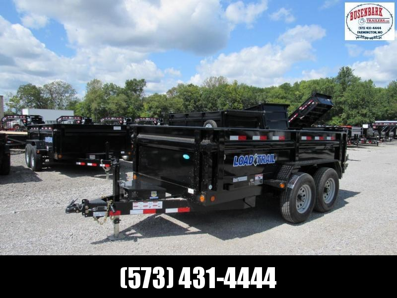 "Load Trail 72"" X 12' Tandem Axle Dump Dump Trailer"