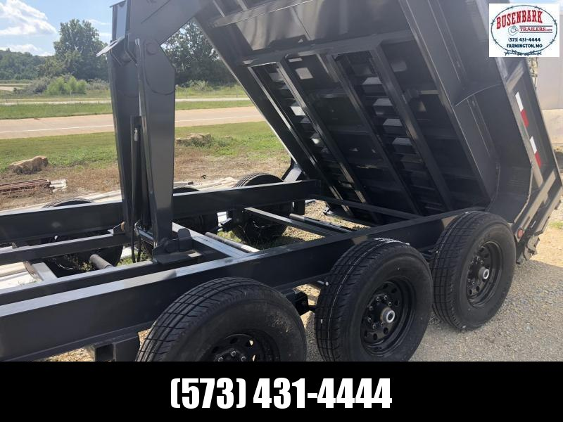 "2019 Load Trail 83"" X 16' Triple Axle Gooseneck Dump Dump Trailer"