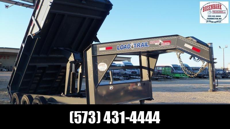 "83"" X 16' Triple Axle Gooseneck Dump GD8316073"