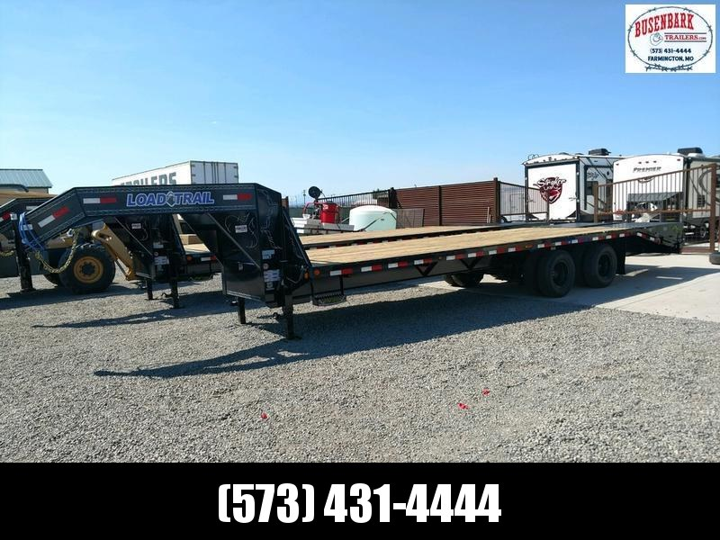 "102"" x 28' Heavy Duty Gooseneck 2-10000 lb Axles"