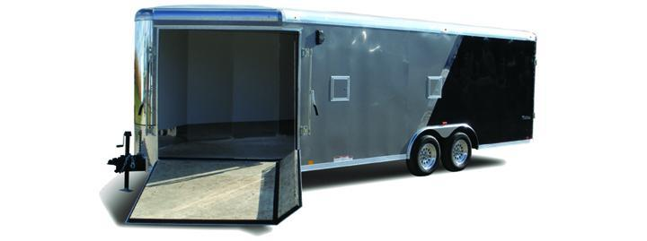 Look Trailers Vision Puresport Auto Flat Top Car / Racing Trailer