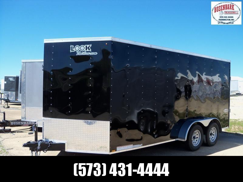 2019 Look Trailers Element Cargo Flat Top Cargo / Enclosed Trailer