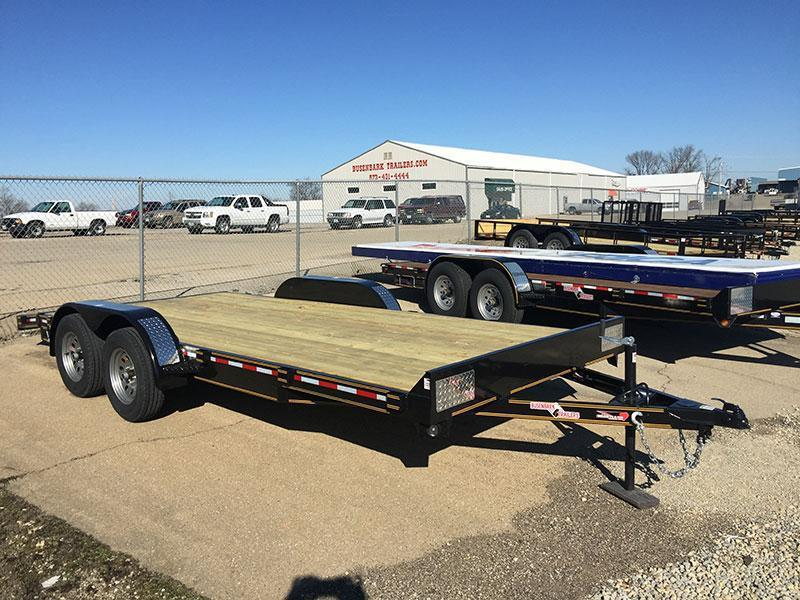 Heartland Super Duty Flatbed Trailer 12 X 82
