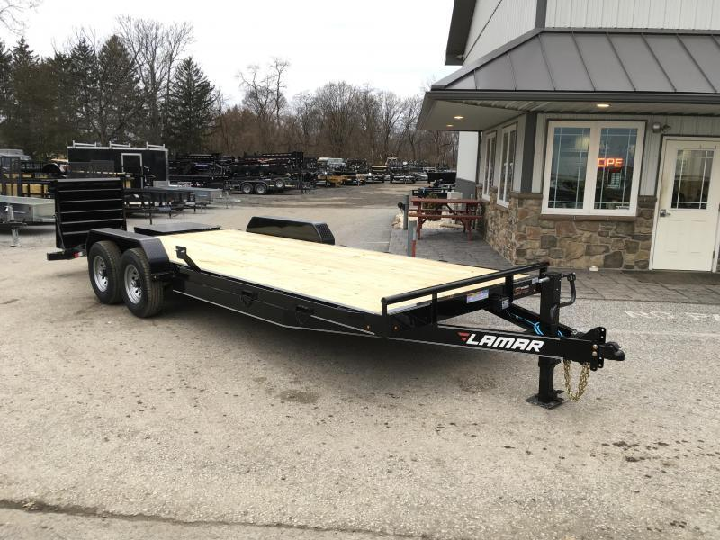 "83"" X 22' EQUIPMENT HAULER 14K"
