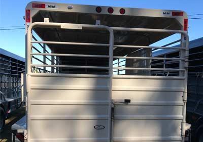2016 Swift Built Stock Trail Livestock Trailer