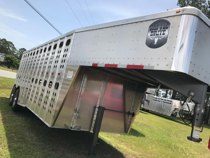 2017 Merritt GN Livestock Trailer