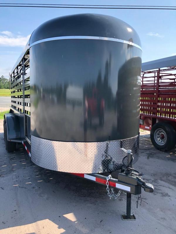 2018 Stoll Trailers Inc. Bumper Pull Livestock Trailer