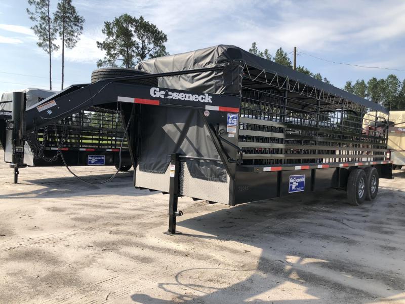 2018 Gooseneck Steel Livestock Trailer