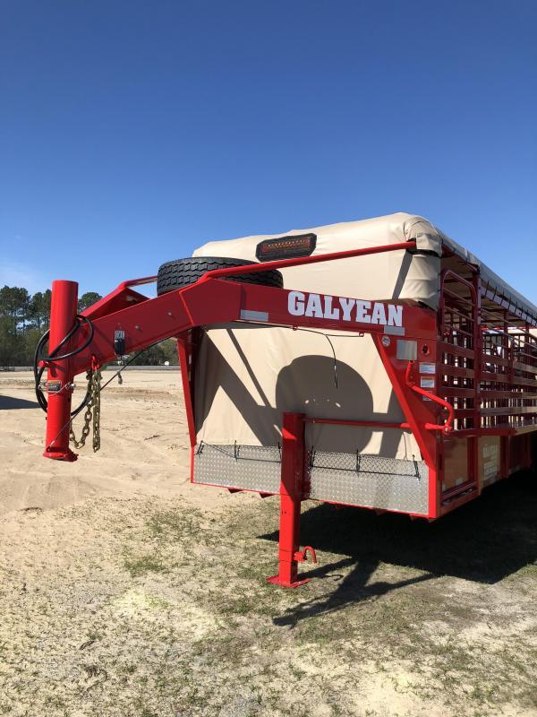 2018 Galyean Cattle Trail Livestock Trailer