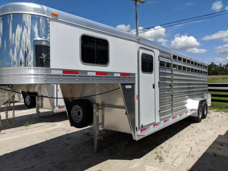 2020 Exiss Trailers STC 7024 Livestock Trailer