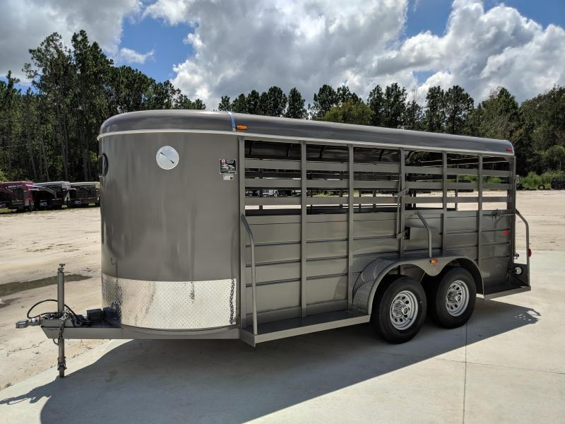 2019 W-W Trailer All Around Livestock Trailer