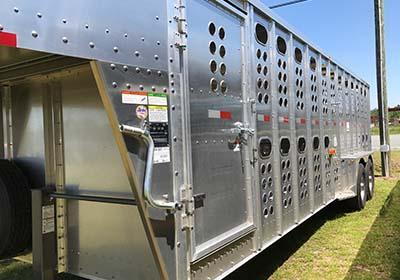 2017 Merritt Equipment GN Livestock Trailer