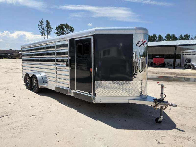 2020 Exiss Trailers Exhibitor 720 Livestock Trailer