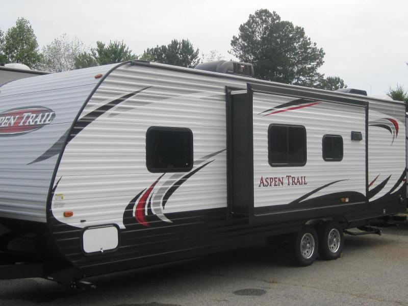 2015 Aspen Trail 2650RBS  OUTSIDE KITCHEN