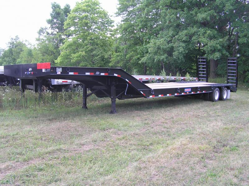 2017 Pitts fixed neck Lowboy trailer