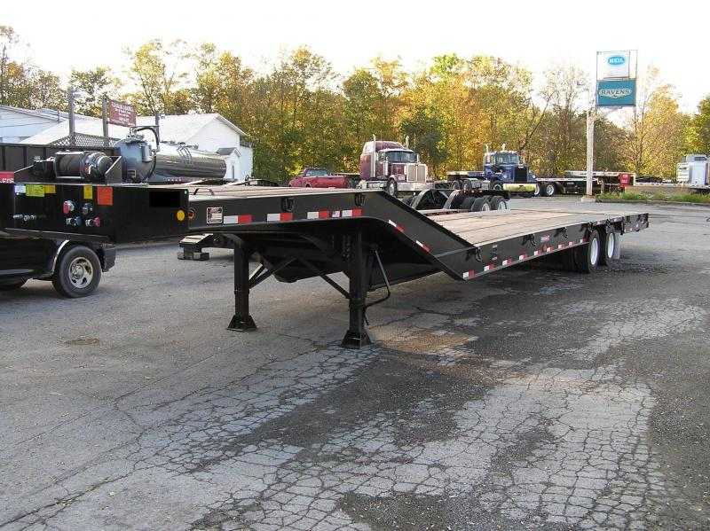 2017 Pitts Hydraulic tail lowboy trailer