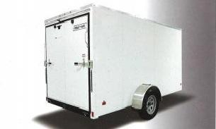 2017 Wells Cargo WCVG58S Enclosed Cargo Trailer
