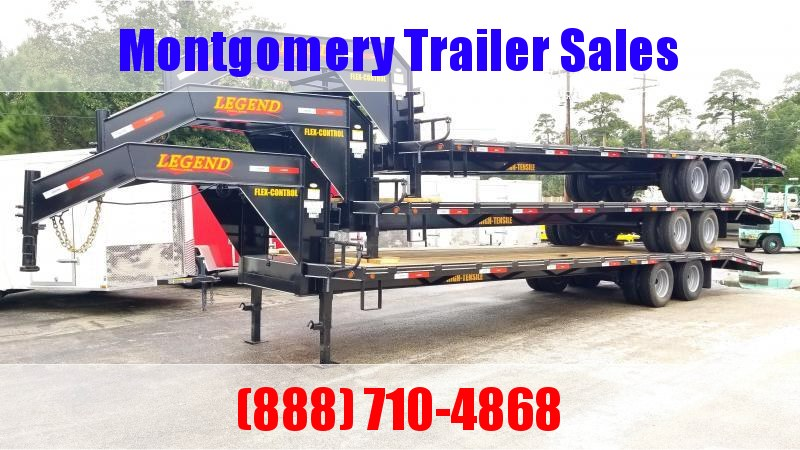 2019 Legend Trailers 32' (27'+5') Flatbed Trailer