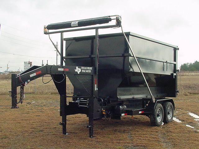 2018 TEXAS PRIDE Gooseneck 18 yd ROLL OFF TRAILER