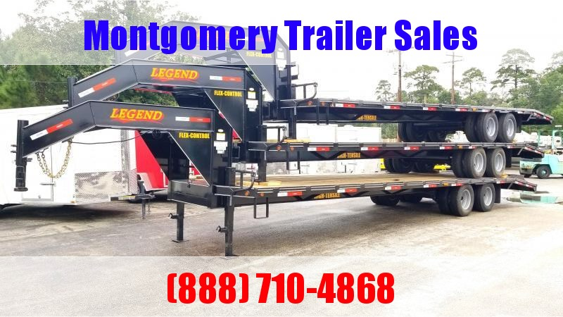 2019 Legend Trailers 40' (35'+5') Flatbed Trailer