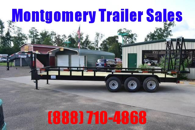 2018 TEXAS PRIDE Heavy Duty Lowboy Equipment Trailer Gooseneck  - Tri-axle - Tube Top