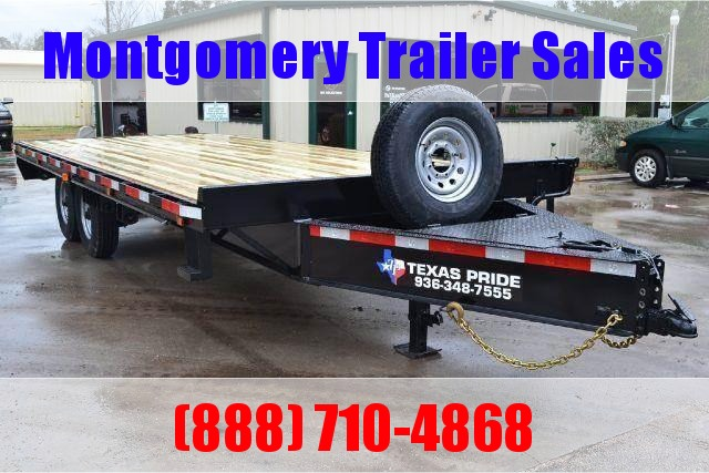 2019 TEXAS PRIDE 8' by 20' Deck Over Bumper Pull