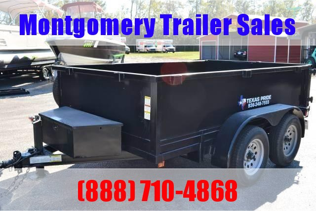 2019 TEXAS PRIDE 6ft. by 10ft. DUMP TRAILER