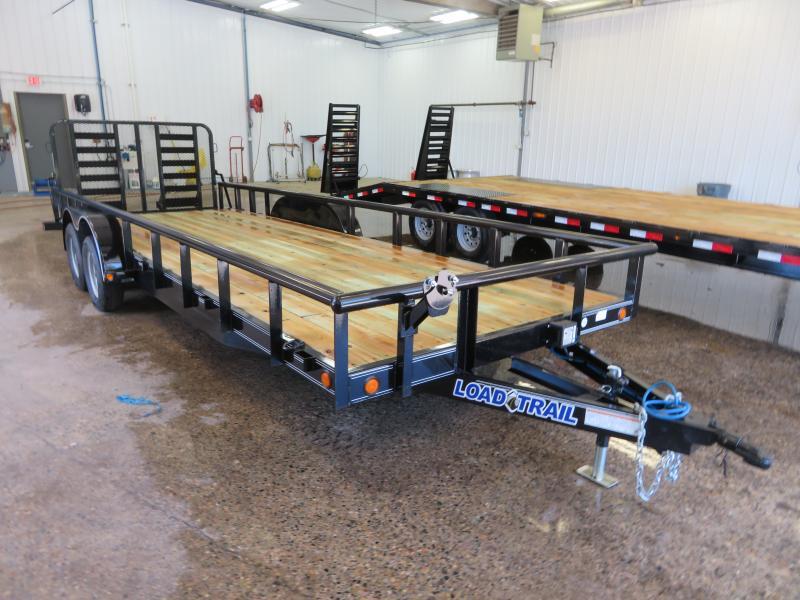 2019 Load Trail 83''X22' Equipment Trailer