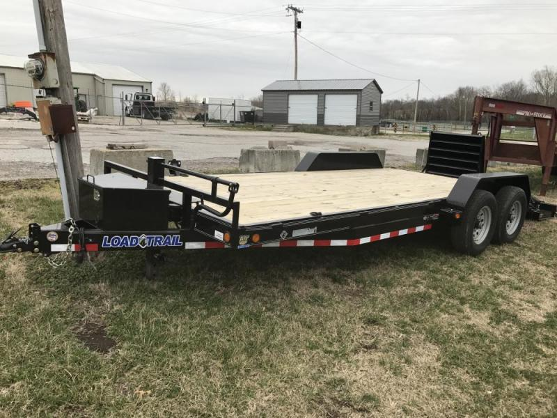 "2017 Load Trail 83"" x 20' 14K Carhauler w/ Equipment Dove"