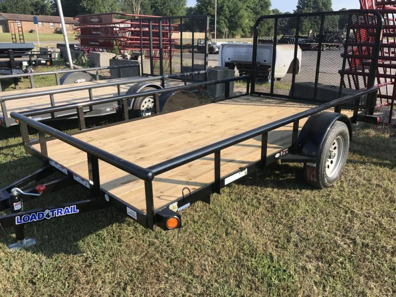 "2017 Load Trail 83"" x 12' Single Axle Utility Trailer"