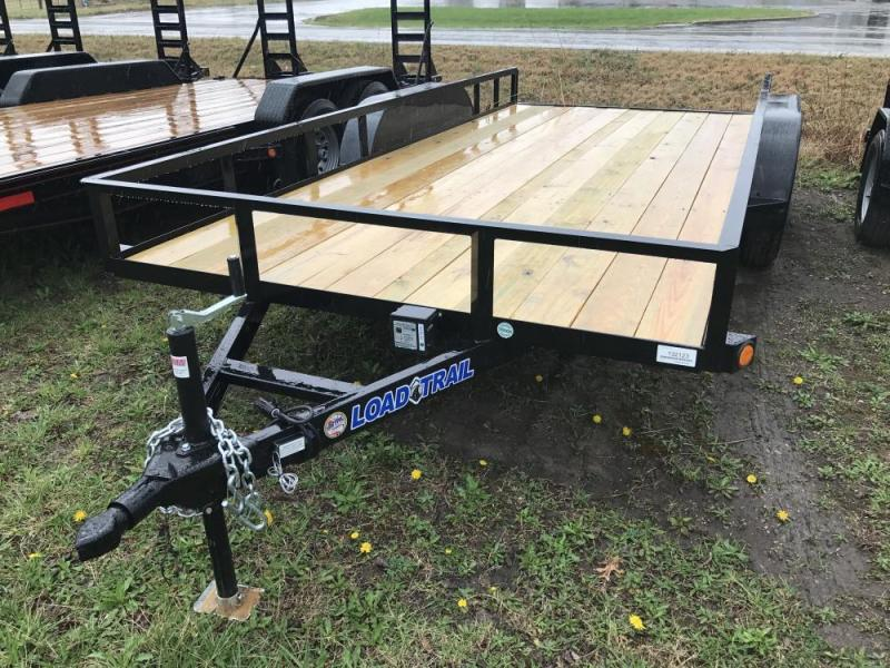 2017 Load Trail 16' 7K Tandem Axle Utility Trailer
