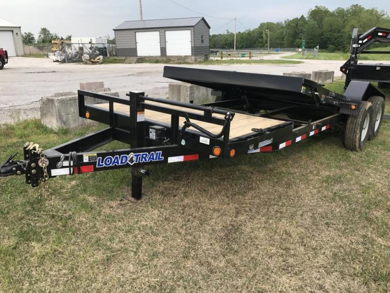 "2017 Load Trail 81"" x 20' Tiltbed Equipment Trailer"