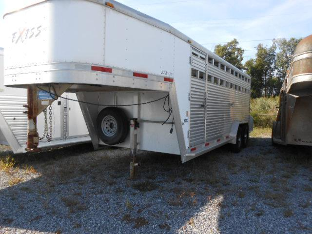 2006 Exiss 7' x 20' Stock Trailer