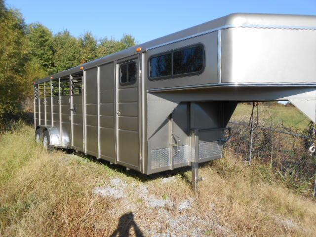 2014 Calico Trailers 24 Stock Combo