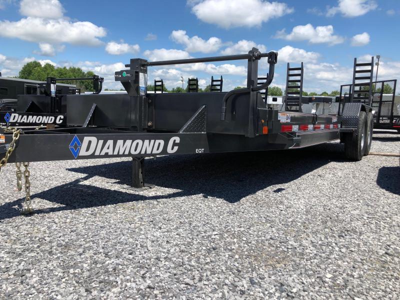 2019 Diamond C  EQT 207-22x82 Equipment Trailer
