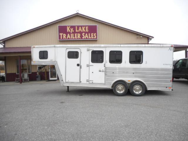 2004 Kiefer Built 3H GN Horse Trailer